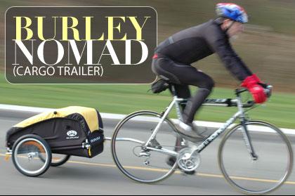 自転車用 自転車用 : Burley Nomad Bike Cargo Trailer